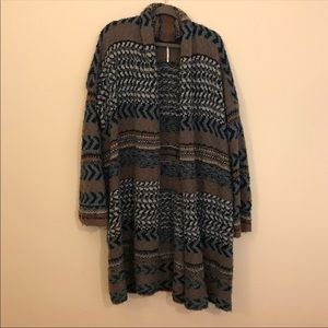 Adorable and warm Free People cardigan sweater